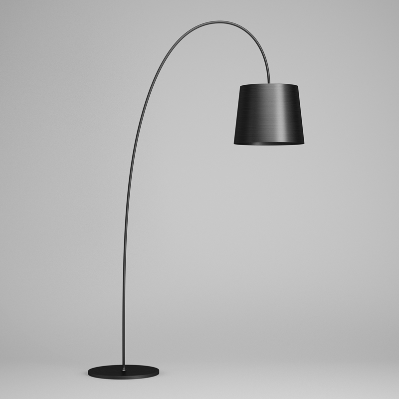 Black Floor Lamp 43 Cgaxis 3d Models Store