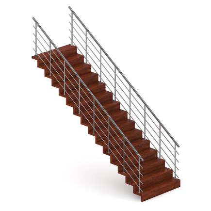 Wooden Stairs 12