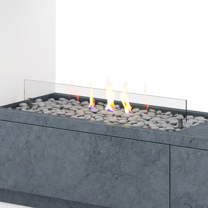 Wall Gas Fireplace 1