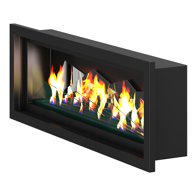 Wall Gas Fireplace 2 Cgaxis 3d Models Store