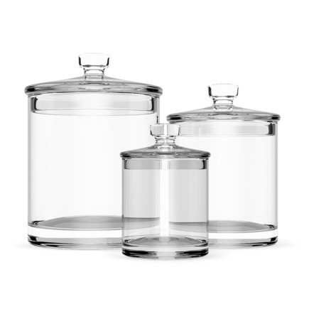 Glass Jars 1