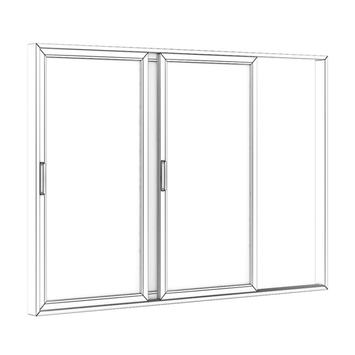 Sliding Metal Doors 3520mm x 2483mm