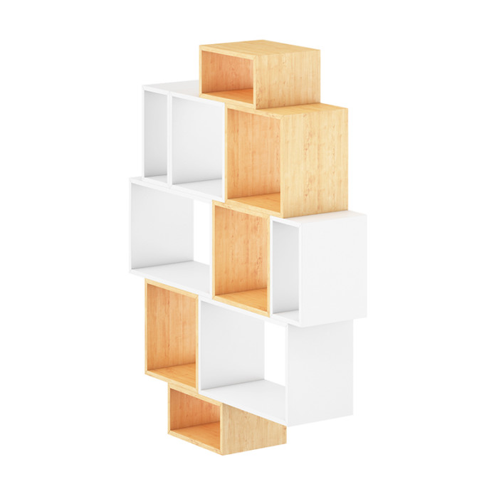 White and Wood Shelf