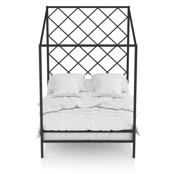 Large Metal Bed