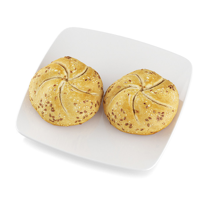 Rolls with seeds