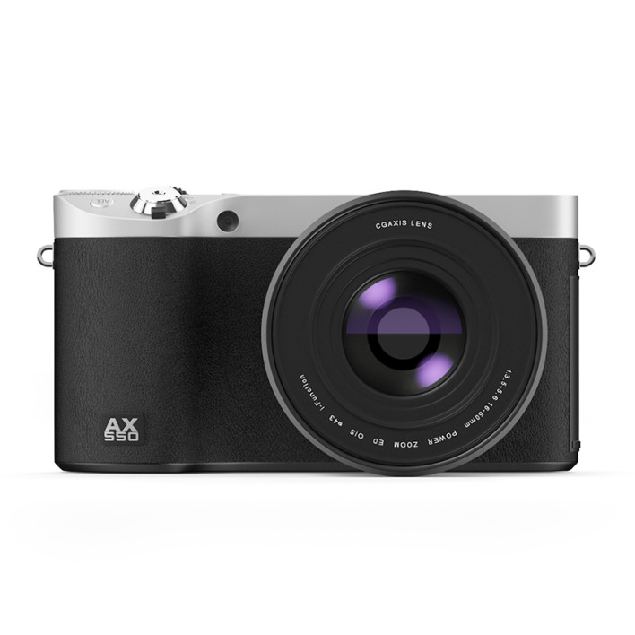Black digital camera