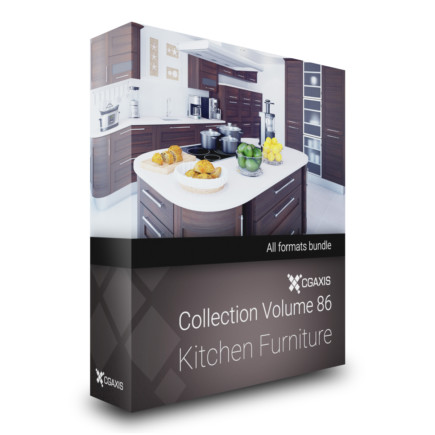 cgaxis models volume 86 kitchen furniture