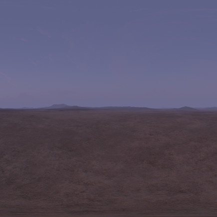 Early Morning Desert 2 HDRI Sky