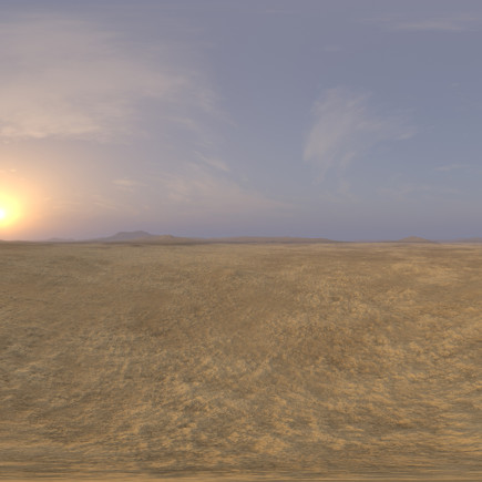 Morning Desert Desert 2 HDRI Sky