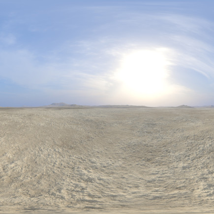 Early Afternoon Desert 2 HDRI Sky