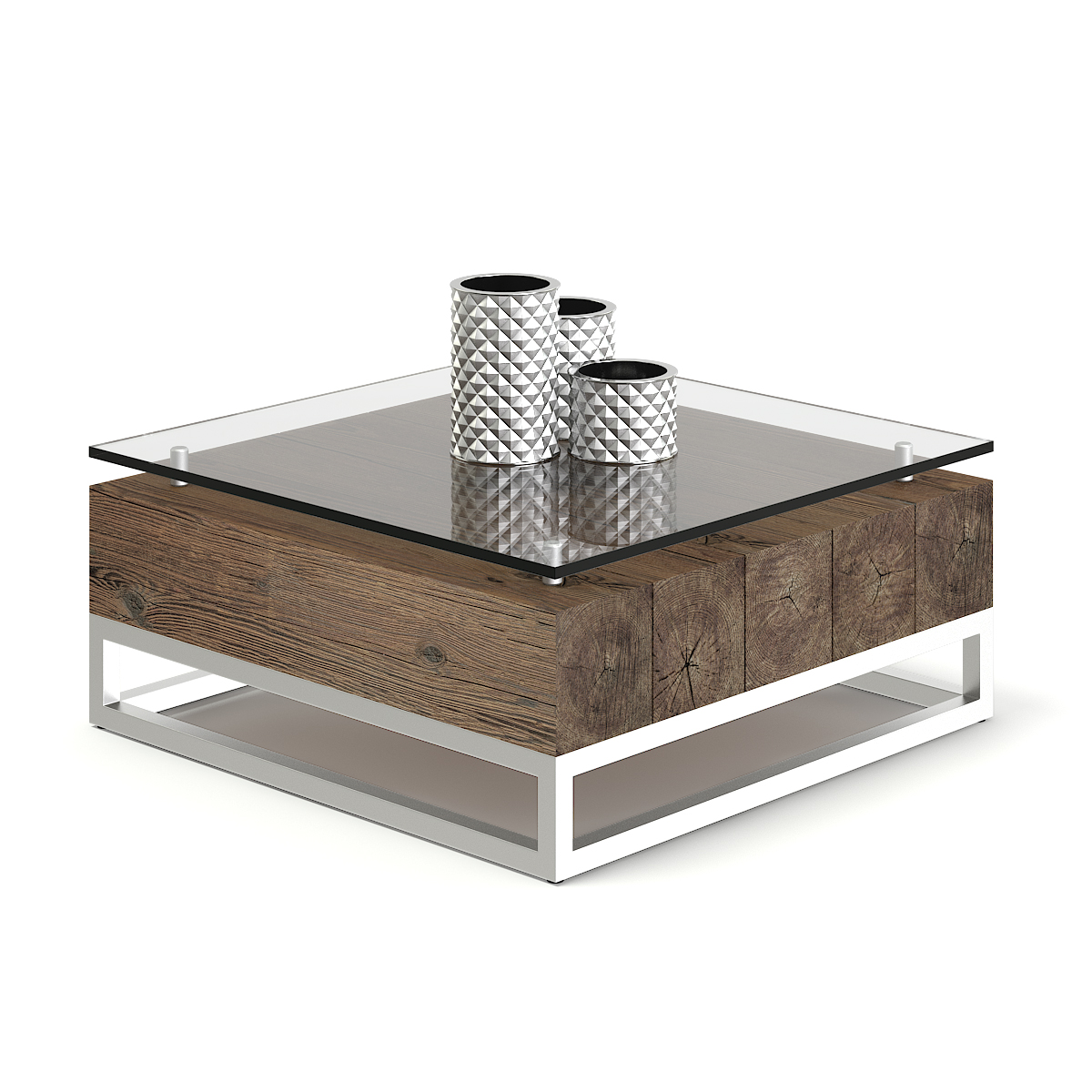 - Wood And Glass Coffee Table 3D Model – CGAxis 3D Models Store