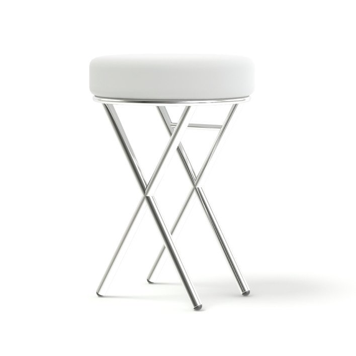 Salon Stool 3D Model