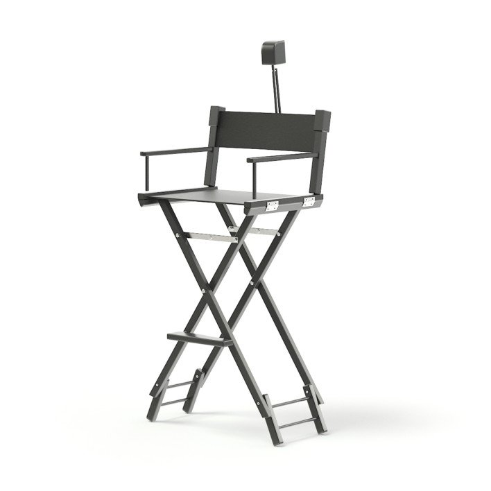 Makeup Chair 3D Model