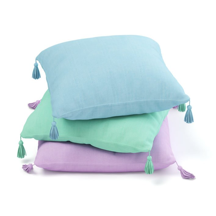Three Pillows 3D Model