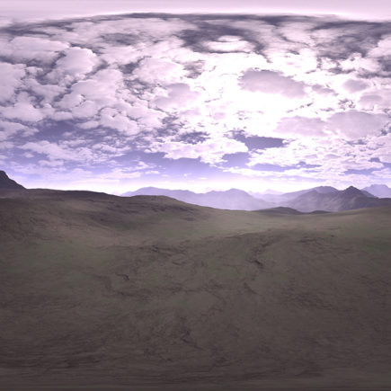Before Noon Desert HDRI Sky
