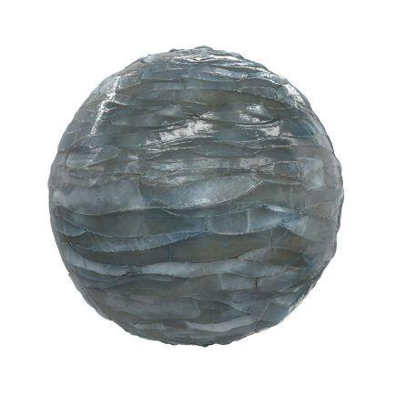 Blue Shiny Rock PBR Texture