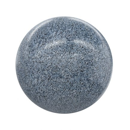 Grey Freckled Granite PBR Texture