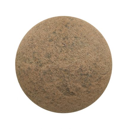 Rough Orange Sandstone PBR Texture