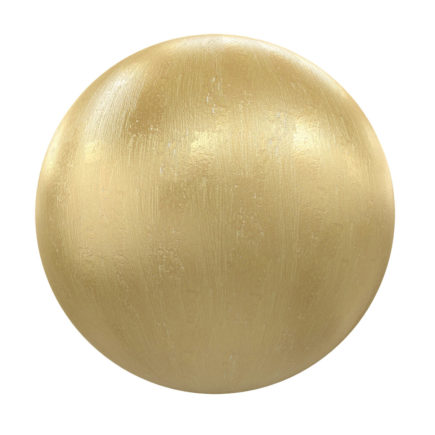Golden Metal PBR Texture