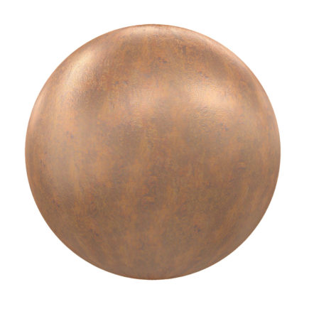 Old Copper PBR Texture