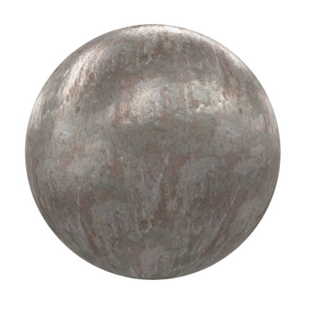 Old Metal PBR Texture