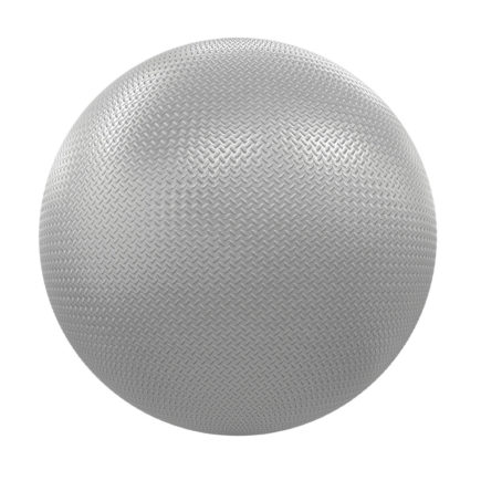 Patterned Shiny Metal PBR Texture