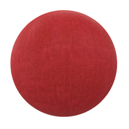 Red Fabric PBR Texture
