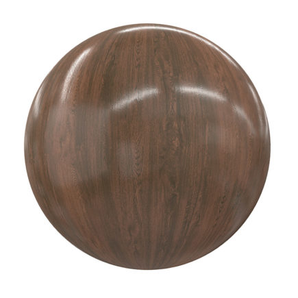 Shiny Wood PBR Texture