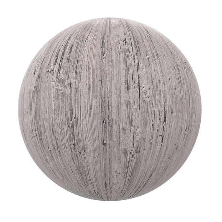 White Painted Old Wood PBR Texture
