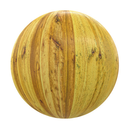 Yellow Wood PBR Texture