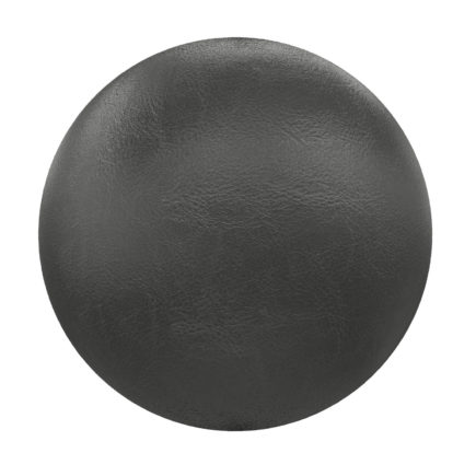 Black Leather PBR Texture