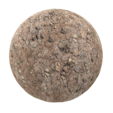Dirt with Stones PBR Texture