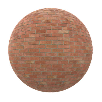 Red Brick Wall PBR Texture