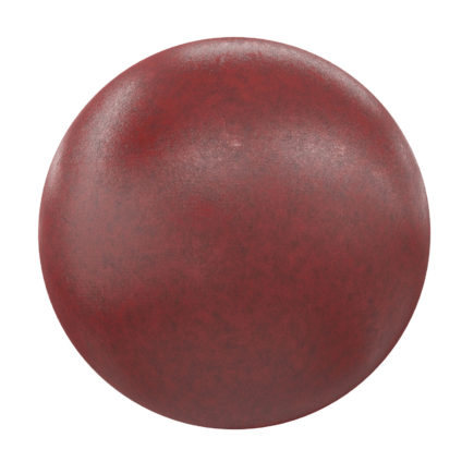 Red Leather PBR Texture