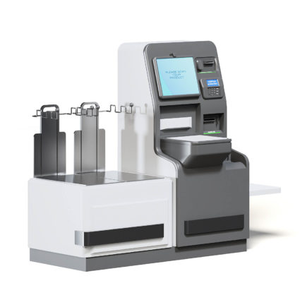Self Service Cash Register 3D Model