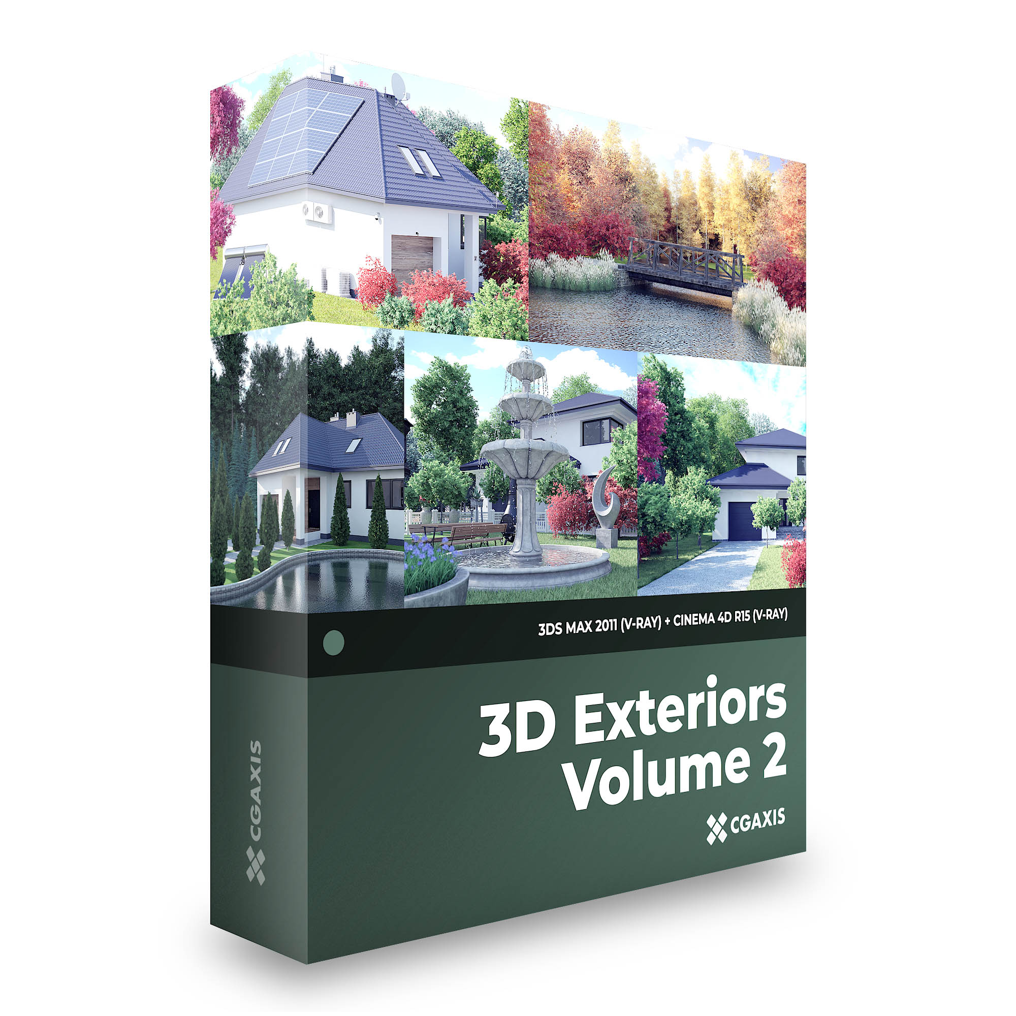 3D Exteriors - CGAxis Collection Volume 2