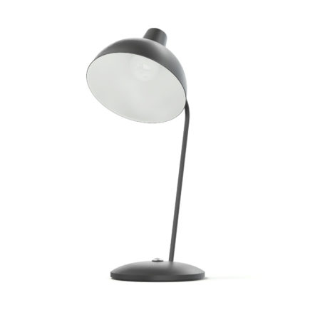 Black Desk Lamp 3D Model