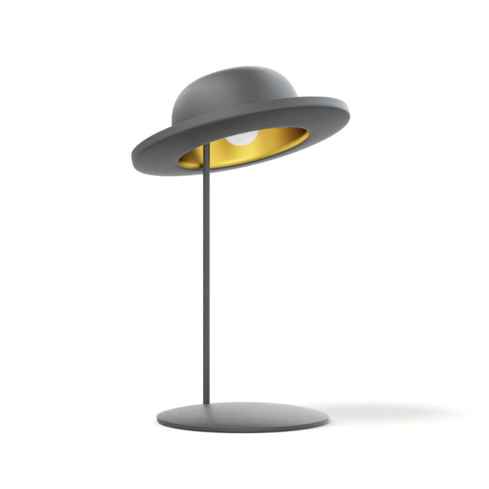 Hat Shaped Desk Lamp 3D Model