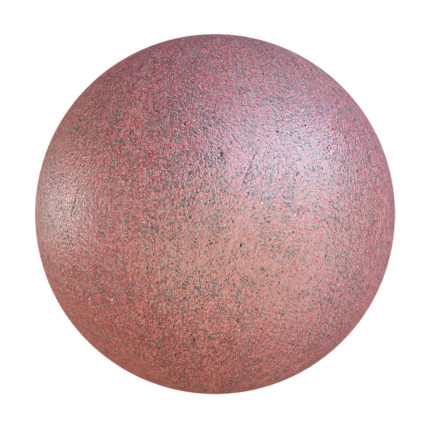 Red Painted Asphalt PBR Texture