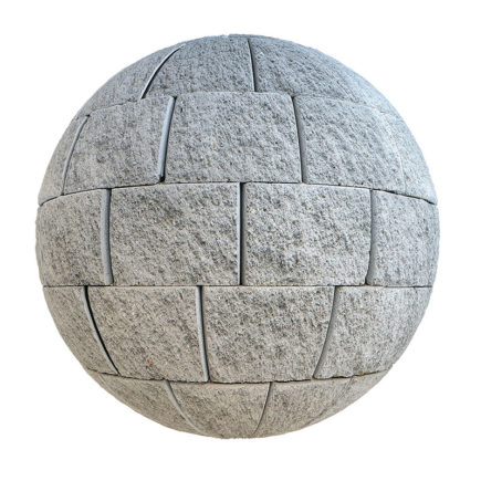 Concrete Bricks PBR Texture