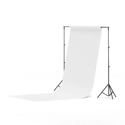 Photo Studio Background 3D Model