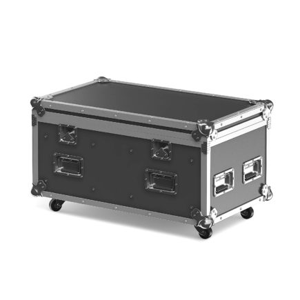 Black and metal photo equipment case 3d model. Compatible with 3ds max 2010 (V-Ray, Mental Ray, Corona) or higher, Cinema 4D R15 (V-Ray, Advanced Renderer), Unreal Engine, FBX and OBJ.