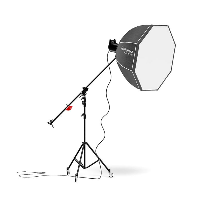Studio Boom Arm with Softbox 3D Model