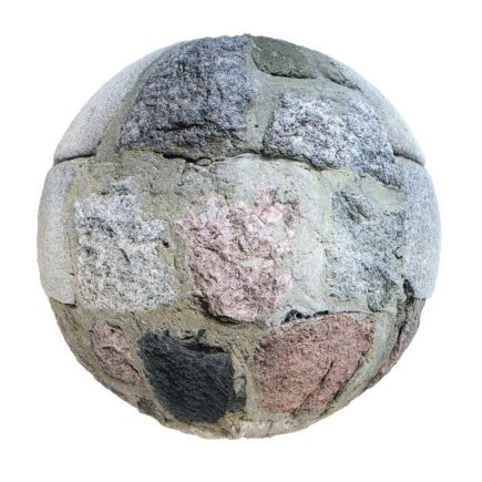 Stone Wall PBR Texture