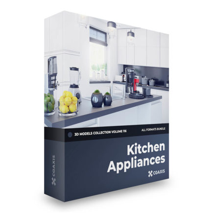 kitchen appliances 3d models