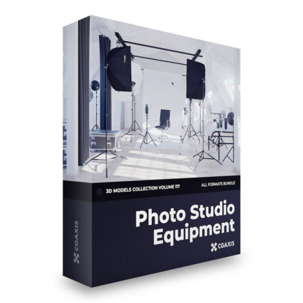 photo equipment 3d models